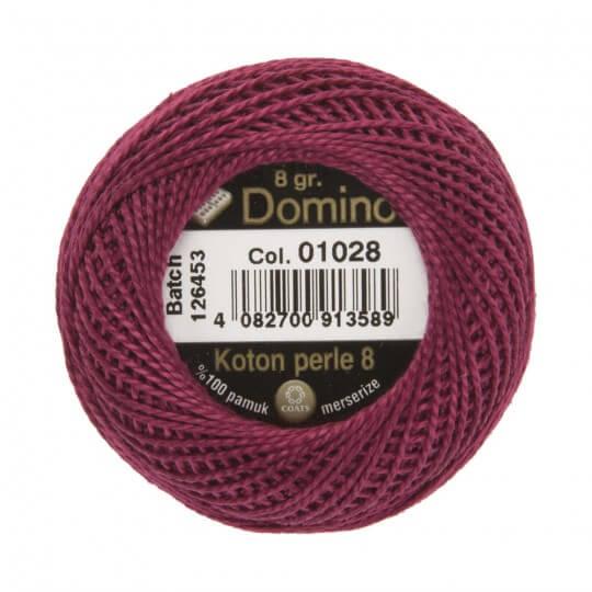 Domino Koton Perle 8gr Mor No:8 Nakış İpliği - 01028