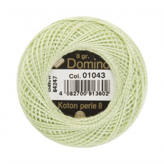 Domino Koton Perle 8gr Mint Yeşili No:8 Nakış İpliği - 01043