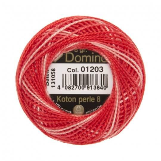 Domino Koton Perle 8gr Ebruli No:8 Nakış İpliği - 01203