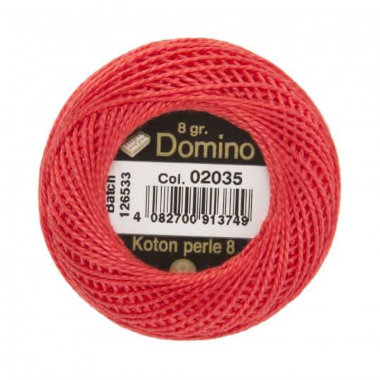 Domino Koton Perle 8gr Pembe No:8 Nakış İpliği - 02035