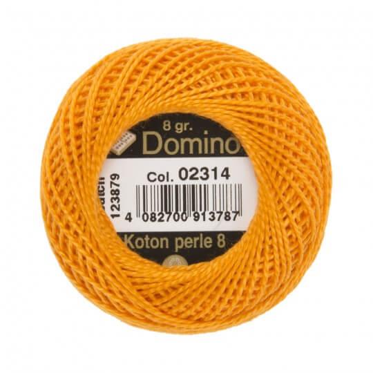 Domino Koton Perle 8gr Turuncu No:8 Nakış İpliği - 02314