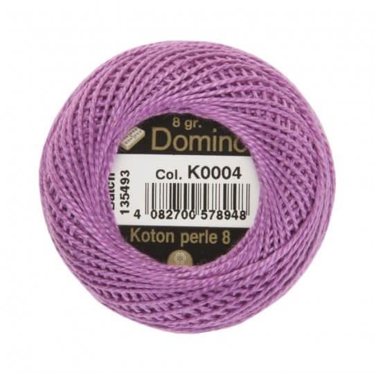 Domino Koton Perle 8gr Mor No:8 Nakış İpliği - K0004