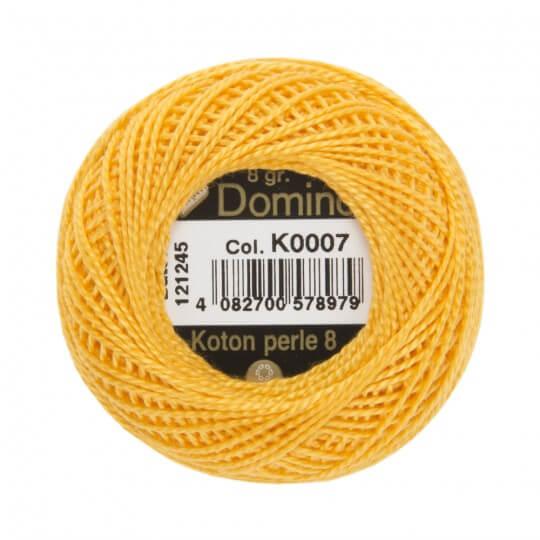 Domino Koton Perle 8gr Sarı No:8 Nakış İpliği - K0007