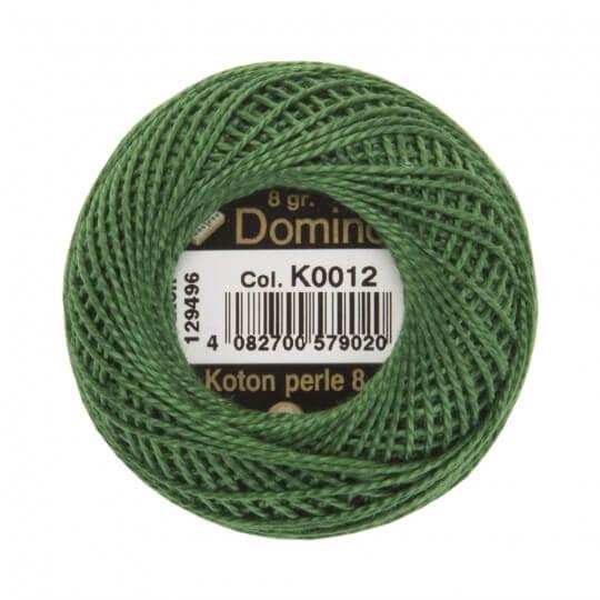 Domino Koton Perle 8gr Yeşil No:8 Nakış İpliği - K0012