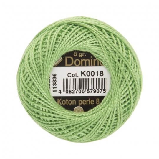 Domino Koton Perle 8gr Yeşil No:8 Nakış İpliği - K0018
