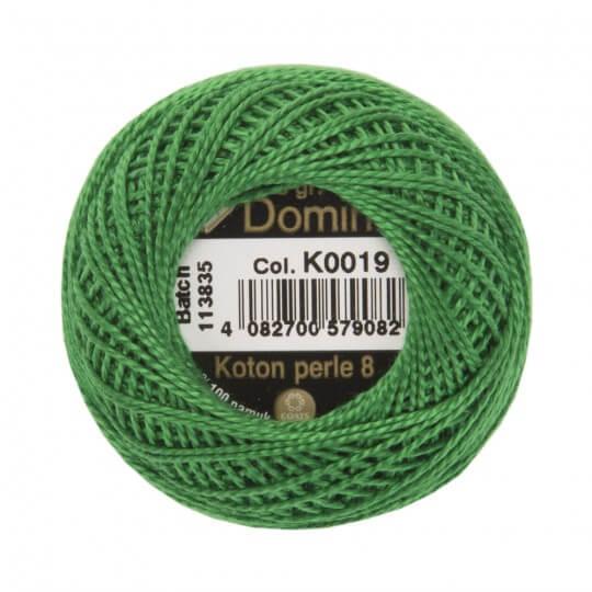 Domino Koton Perle 8gr Yeşil No:8 Nakış İpliği - K0019