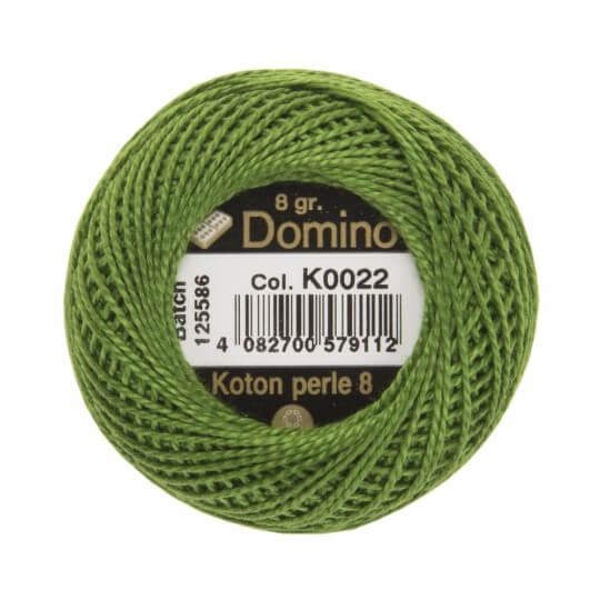 Domino Koton Perle 8gr Yeşil No:8 Nakış İpliği - K0022
