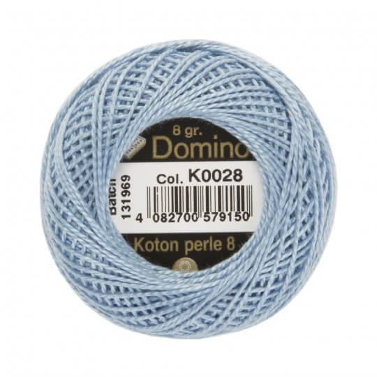 Domino Koton Perle 8gr Mavi No:8 Nakış İpliği - K0028