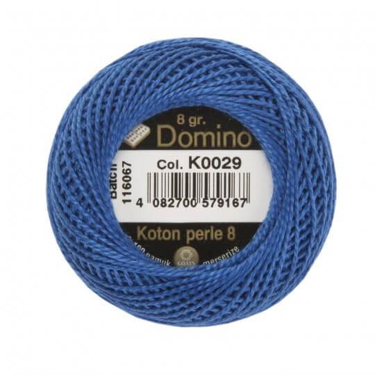 Domino Koton Perle 8gr Mavi No:8 Nakış İpliği - K0029