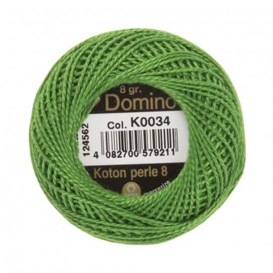 Domino Koton Perle 8gr Yeşil No:8 Nakış İpliği - K0034