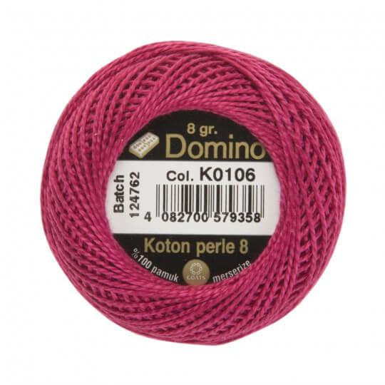 Domino Koton Perle 8gr Mor No:8 Nakış İpliği - K0106
