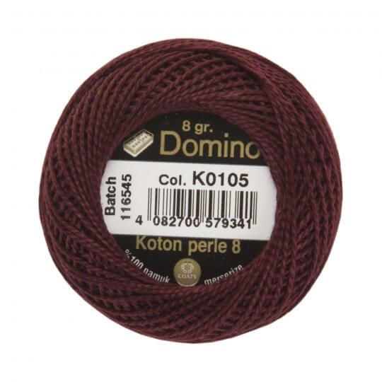 Domino Koton Perle 8gr Mor No:8 Nakış İpliği - K0105