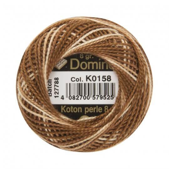 Domino Koton Perle 8gr Ebruli No:8 Nakış İpliği - K0158