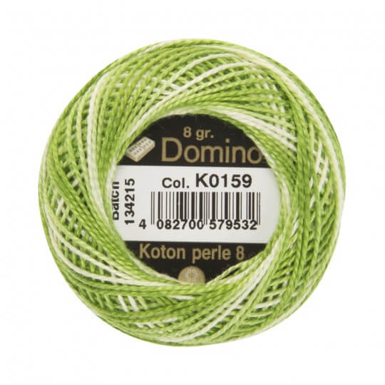 Domino Koton Perle 8gr Ebruli No:8 Nakış İpliği - K0159