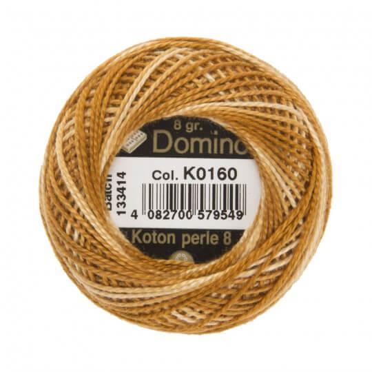 Domino Koton Perle 8gr Ebruli No:8 Nakış İpliği - K0160