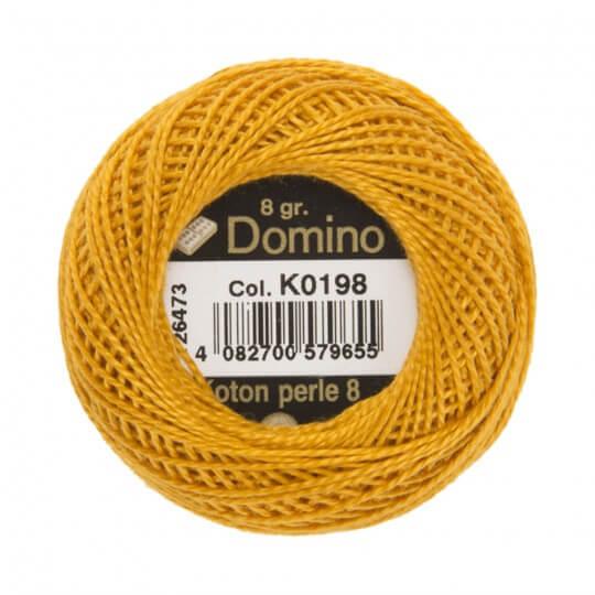 Domino Koton Perle 8gr Turuncu No:8 Nakış İpliği - K0198