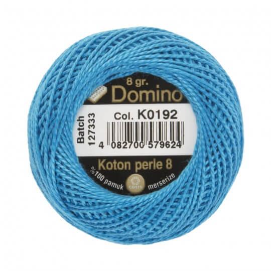 Domino Koton Perle 8gr Mavi No:8 Nakış İpliği - K0192