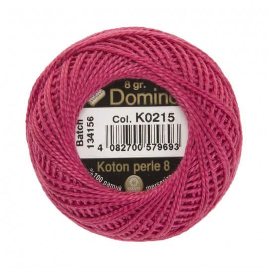 Domino Koton Perle 8gr Mor No:8 Nakış İpliği - K0215