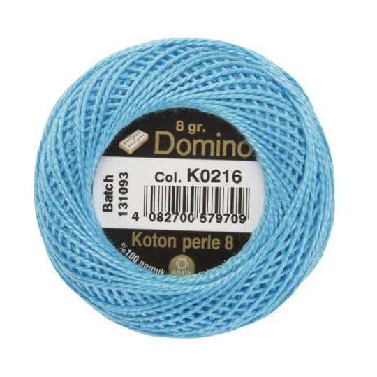 Domino Koton Perle 8gr Mavi No:8 Nakış İpliği - K0216