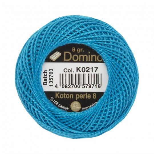 Domino Koton Perle 8gr Mavi No:8 Nakış İpliği - K0217