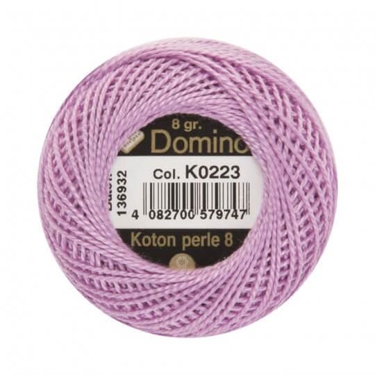 Domino Koton Perle 8gr Mor No:8 Nakış İpliği - K0223