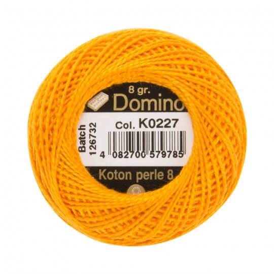 Domino Koton Perle 8gr Turuncu No:8 Nakış İpliği - K0227