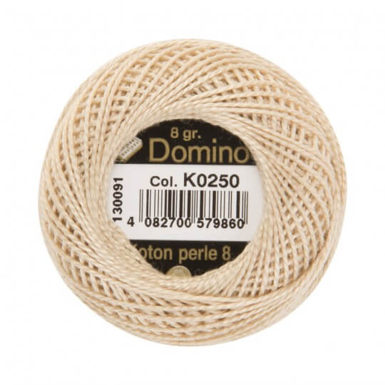 Domino Koton Perle 8gr Bej No:8 Nakış İpliği - K0250