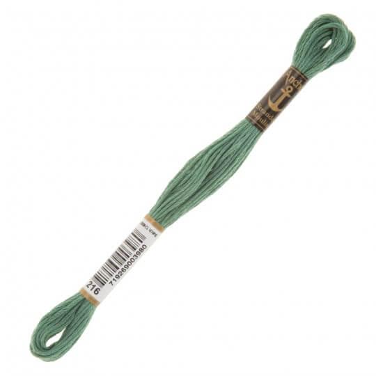 Anchor Muline 8m Yeşil Nakış İpliği - 0216
