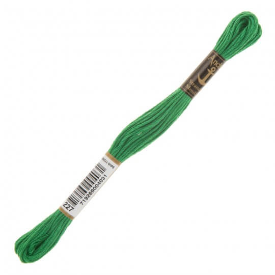Anchor Muline 8m Yeşil Nakış İpliği - 0227