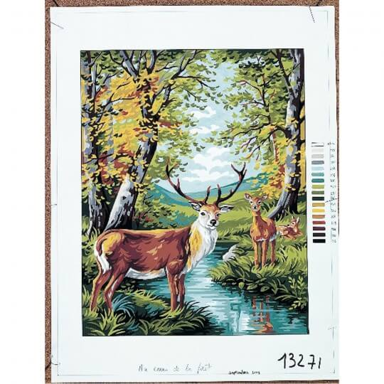 Royal Paris 47,5 x 37 cm Baskılı Goblen - 9880132-00071