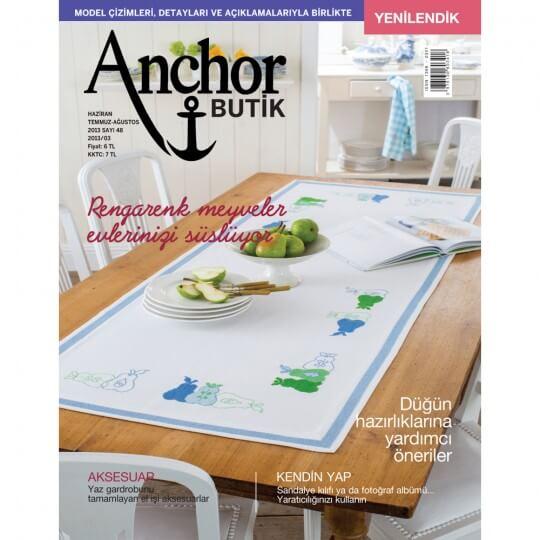 Anchor Butik Dergisi 48. Sayı Nakış Dergisi
