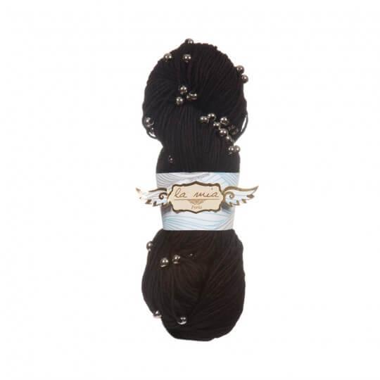La Mia Perla 5'li Paket Siyah El Örgü İpi