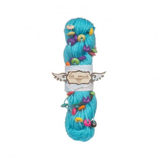 La Mia Lina 5'li Paket Mavi El Örgü İpi