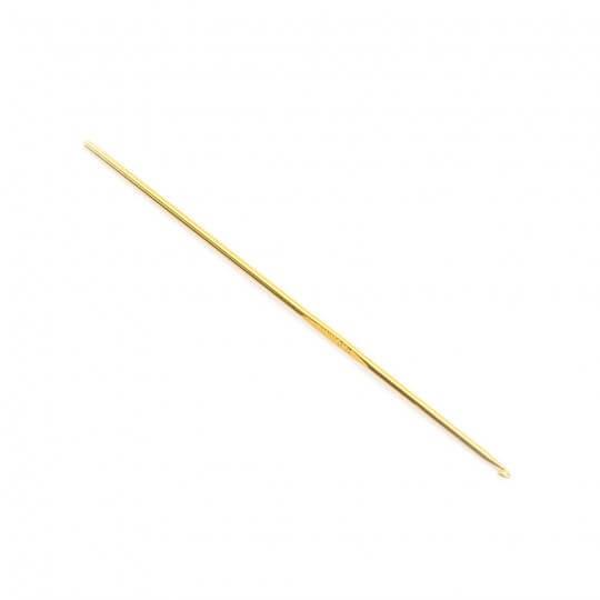 Kartopu 2,5 mm 15 cm Sarı Metal Yün Tığ