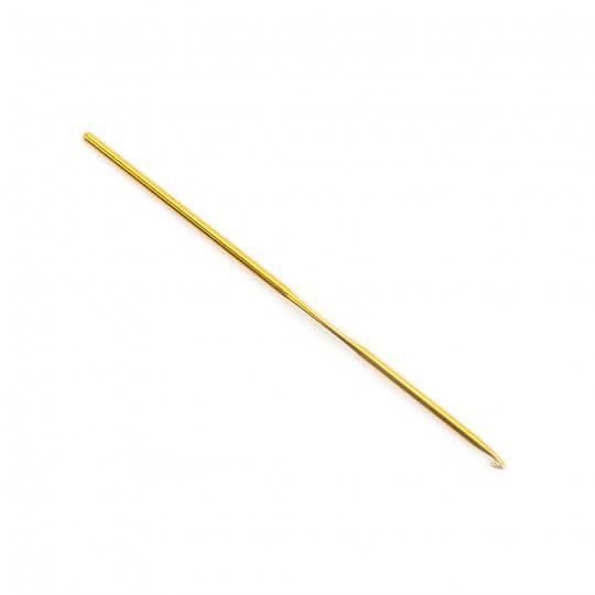 Kartopu 3 mm 15 cm Sarı Metal Yün Tığ