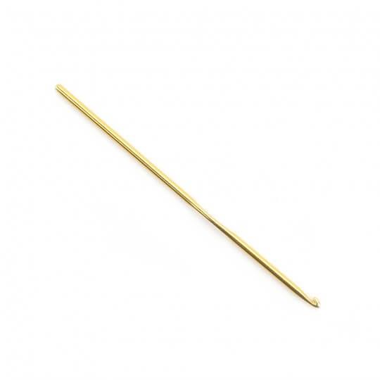Kartopu 3,5 mm 15 cm Sarı Metal Yün Tığ
