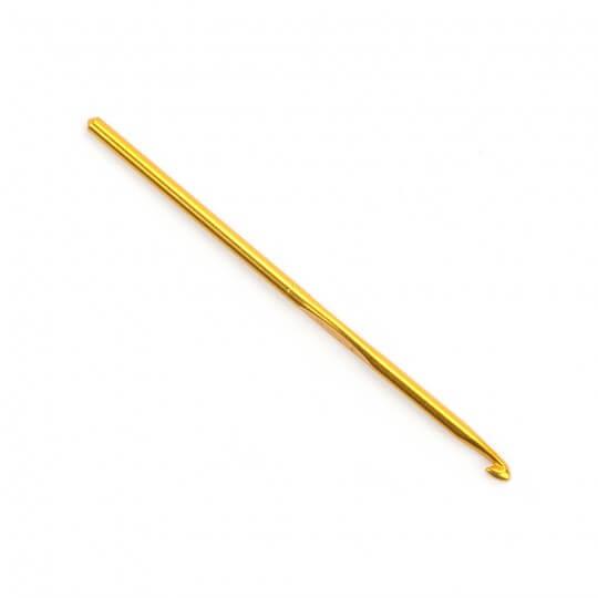 Kartopu 5 mm 15 cm Sarı Metal Yün Tığ