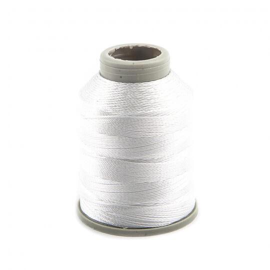 Kartopu Beyaz Polyester Dantel İpliği  KP001