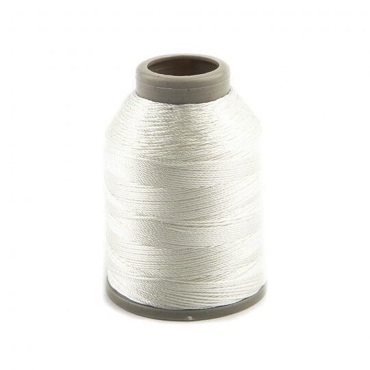 Kartopu Beyaz Polyester Oya&Dantel İpi - KP746