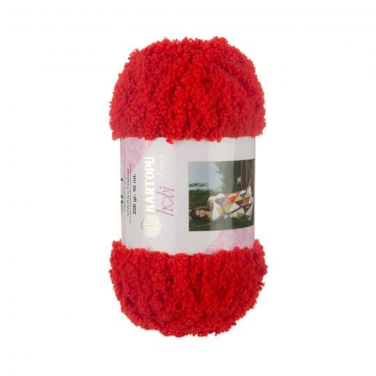Kartopu Hobi Kırmızı El Örgü İpi - K160