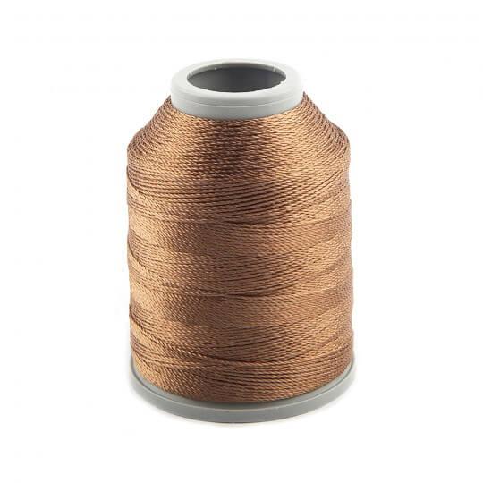 Kartopu Kahverengi Polyester Dantel İpliği - KP780