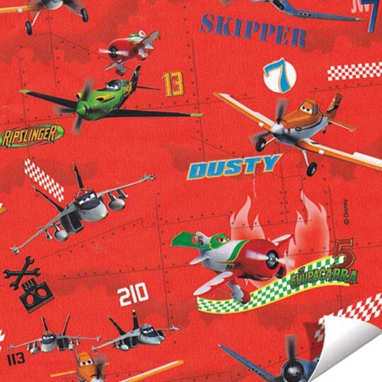 Paw Kırmızı Hediye Paketleme Kağıdı - AGP000904