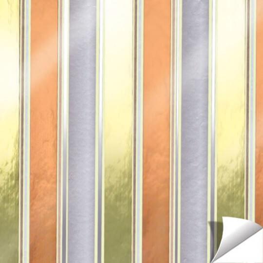 Paw Çizgili Hediye Paketleme Kağıdı - AGP002902-ho