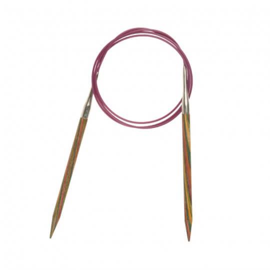 KnitPro Symfonie 6 mm 100 cm Ahşap Misinalı Şiş - 21356