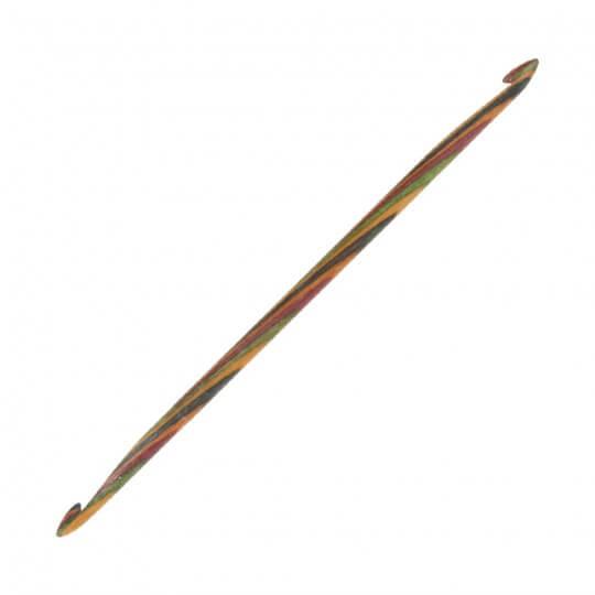 KnitPro Symfonie 5 mm - 5,5 mm 15 cm Çift Uçlu Tunus Tığı - 20727