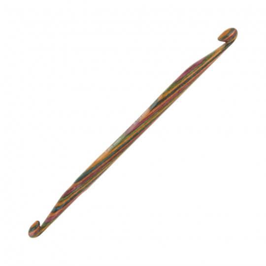 KnitPro Symfonie 7 mm - 8 mm 15 cm Çift Uçlu Tunus Tığı - 20724