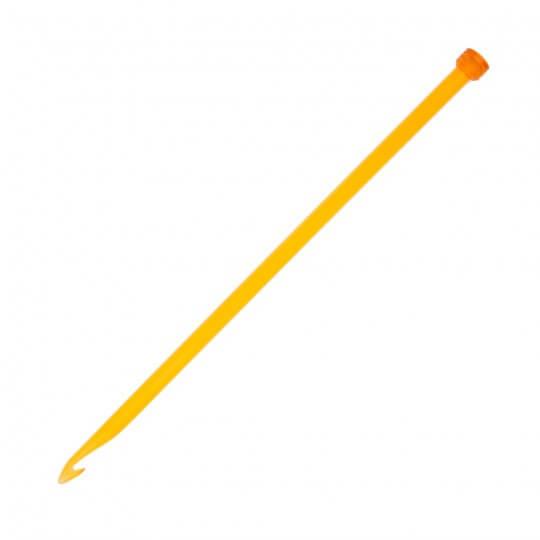 KnitPro Trendz 10 mm 30 cm Turuncu Gagalı Şiş Tunus Tığ - 51408