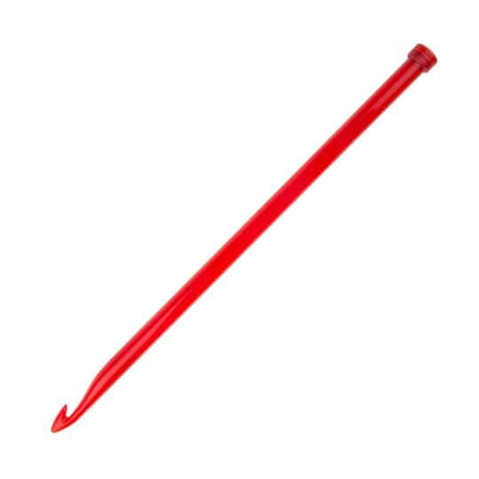 KnitPro Trendz 12 mm 30 cm Kırmızı Gagalı Şiş Tunus Tığı - 51409