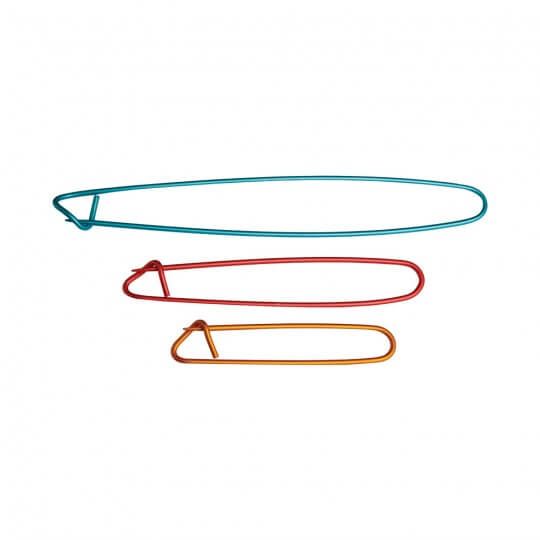 KnitPro Alüminyum 3'lü İlmek Tutucu Seti - 45502