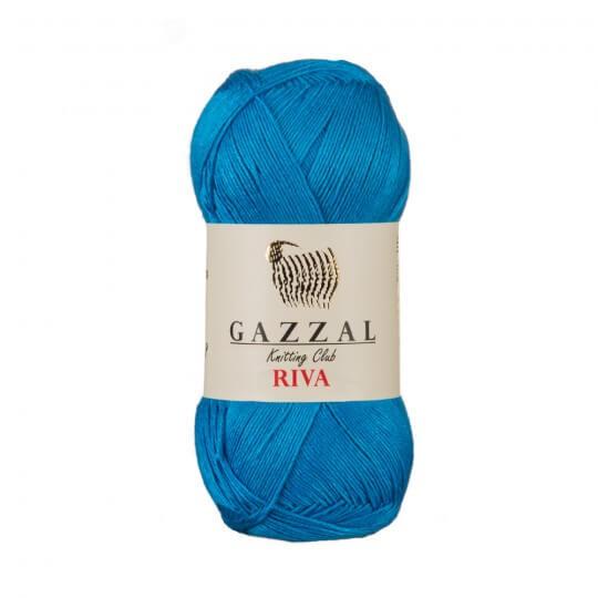 Gazzal Riva 5'li Paket Mavi El Örgü İpi - 176